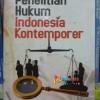 Penelitian Hukum Indonesia Kontemporer - M. Hadin Muhj Limited