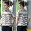 Hem Batik Cap - kemeja batik lengan pendek RK08