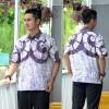 Hem Batik Cap - kemeja batik lengan pendek RK06