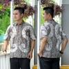 Hem Batik Cap - kemeja batik lengan pendek RK01