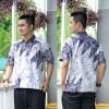 Hem Batik Cap - kemeja batik lengan pendek RK04