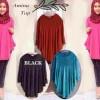 FG - [BL amina YR] blouse wanita jersey warna maroon