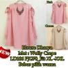 FG - [Blouse Dharya SW] blouse wanita wolly crepe
