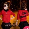 FG - [jaket hanna 2in 1 DR] setelan wanita spandex merah