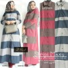 stripi maxy, maxi dress, gamis muslim terbaru, murah, dress cassual