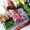 per pack bunga kucai mini daun 0,5 inchi banyak warna