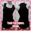 Tank Top Agnes / Aerobic - Hitam ..