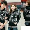 couple snowlake black