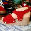 Sepatu Wanita Wedges Mm215 Kickers Replika