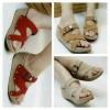 Sepatu Wanita Sendal Wedges Lev-09
