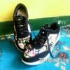 Sepatu Wanita Kets Wedges Sr02 Bunga
