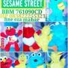 Boneka tokoh film kartun sesame street big bird elmo monster cookies