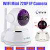 Ip Camera CCTV Mini Wifi HD 720p 355D Wireless Support Android & iOS