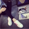 Grosir Sepatu Wanita Murah - Sepatu Kets Adidas Replika Pink KM35