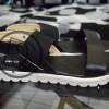 Grosir Sepatu Wanita Murah - Sandal Flatfrom Hitam DK11