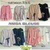 anisa blouse - tunik - top - atasan wanita - baju murah