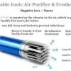 CAR IONIZER Air Purifier Penghilang Aroma Bau Mobil