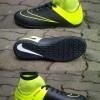 Sepatu futsal Nike mercurial superfly ijo kombinasi hitam 39-43