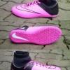 Sepatu futsal Nike mercurial superfly hitam kombinasi pink 39-43
