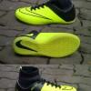 Sepatu futsal Nike mercurial superfly hitam kombinasi ijo 39-43