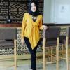 zolla blouse marun - tunik - top - atasan wanita - baju murah