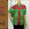 Atasan Jumbo Batik | Kemeja Hijau Arimbi
