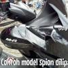 NEW MODEL Spion Lipat MHR bahan ABS untuk NMAX