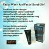 SZAVA FACIAL WASH & FACIAL SCRUB 2IN1