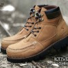 WOLF SAFETY BOOTS ROTTWEILER TAN PULL UP