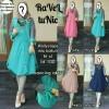 FGOnline * RAVEL TUNIC | Baju Midi Dress Wanita Warna Pastel Busui