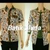 Baju Batik Couple Uler Ijo Trand Fashion Pekalongan