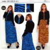 FG - [ Maxi VIola AY ] pakaian wanita muslim warna orange dan biru