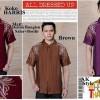 FG - baju koko pria dg motif bordir di pundak tanpa maron (koko harris