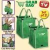 Grab Bag Tas Belanja Shopping Bags Trolley Supermarket Go Green Tote