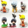 MAINAN ACTION FIGURE NARUTO CHIBI PETIT SET 6
