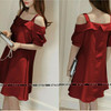 NEW Vanz Collection - Long Sabrina Dress - Merah HGB