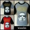 Kaos anak Woozles karakter Star Wars