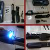 Senter LED Darurat + Pedang Setrum StunGun/TIPE BATON TW-09/ TW09