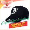 Topi Bikers Touring Topi bordir Alphabets F forTopi Baseball warna Hit