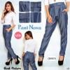 FG - [ Pants Nova SW] pakaian wanita celana warna biru dongker
