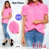 FG - [ Blouse Filia SW] pakaian wanita kemeja warna pink