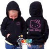 Hoodie Zip / Jaket Sweater Hello Kitty Anak