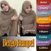 DISKON KEREN Jilbab / Hijab / Kerudung Bergo Rempel