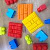 Cetakan Puding, Es, Coklat Lego - Bricks B