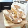 Sepatu Wanita Wedges - Adl 1068 Cream
