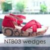 Sepatu Wanita Wedges Tali Ntb03