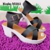 Sepatu Wanita Wedges Platform Nv02