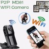IP Camera Mini Dv Wifi Cmos Hd P2p Web Camera Android Ios