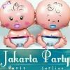 Balon Foil Baby Boy Baby Girl / Balon Karakter Baby Boy Baby Girl