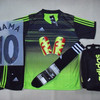 Setelan baju Futsal Bola Adidas Printing Speed Black Stabilow